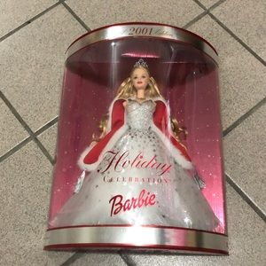 2001 Holiday Barbie